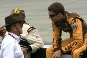 David Ragan and Jack Roush
