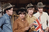 Davy Jones of The Monkees, 2nd from the left Died 02-29-12