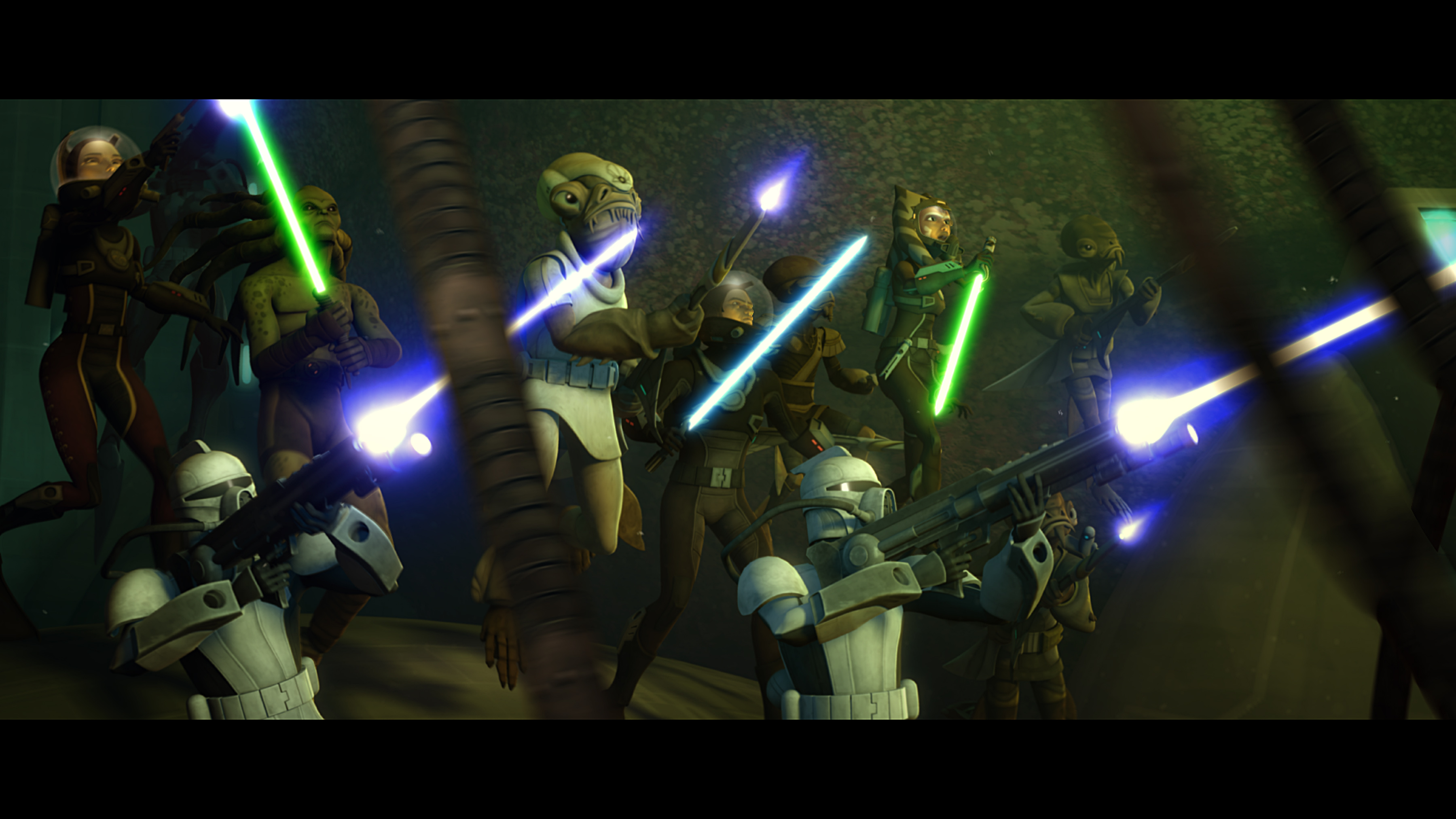 Star wars: the clone wars / lucasfilm animation