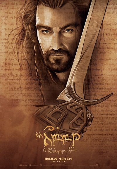 Hobbit Thorin Sketch 1600x2366