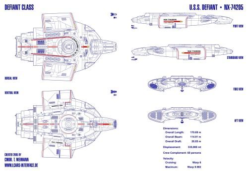 USS Defiant / Reggie's Take.com