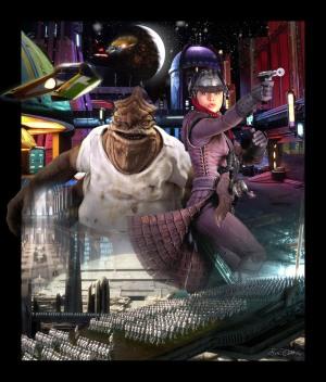 Coruscant Poster