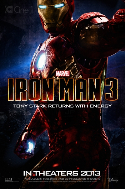 Iron Man 3 Poster b