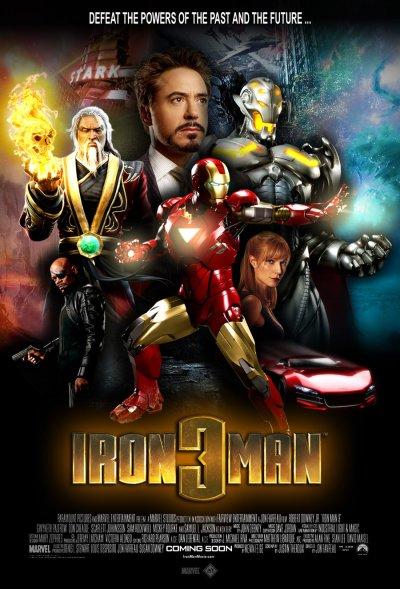 Iron Man 3 Poster c