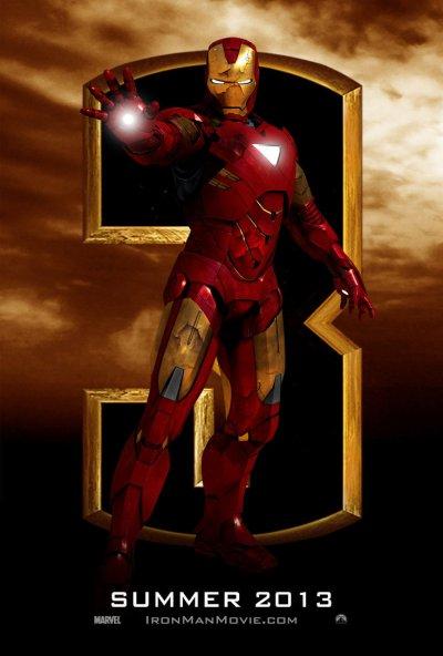 Iron Man 3 Poster e
