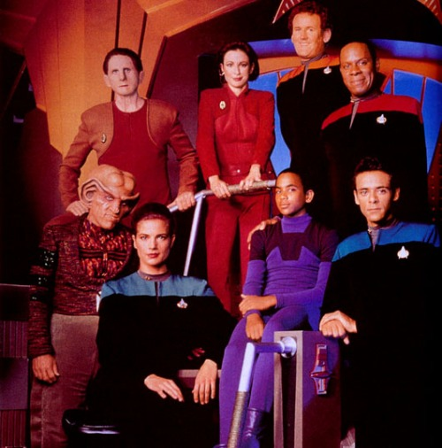 Star Trek DS9 Crew Season 1