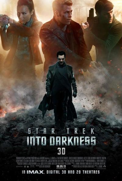 Star Trek Into Darkness 3d Poster