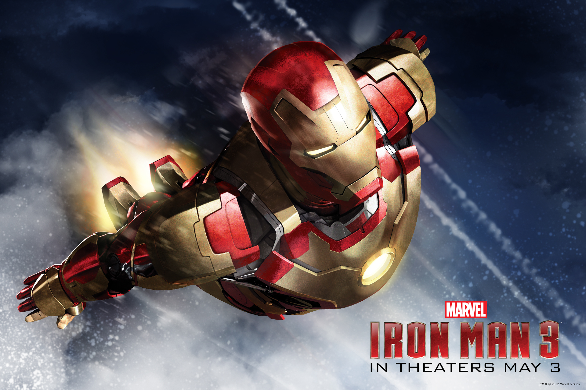 iron man 3 wallpaperreggie's take