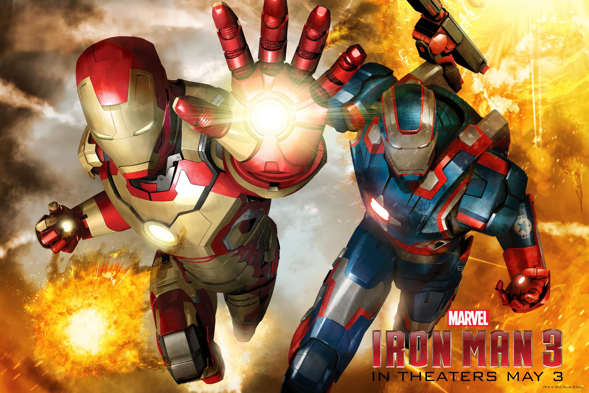 Iron Man 3 Wallpaperreggie S Take Com