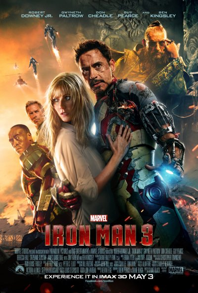 Iron Man 3 Poster HR 1