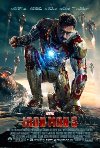 Iron Man 3 Poster HR2
