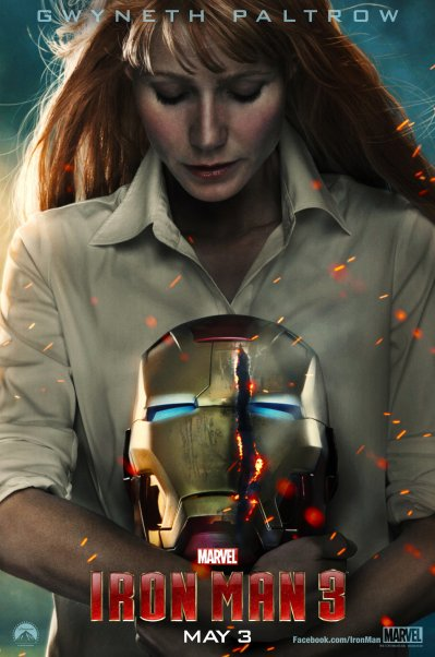 Iron Man 3 Poster HR6