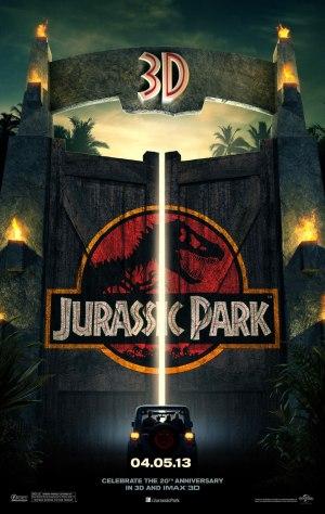 Jurassic Park 3D Poster HR