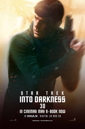 Star Trek Into Darkness Poster 2 Zachary Quinto