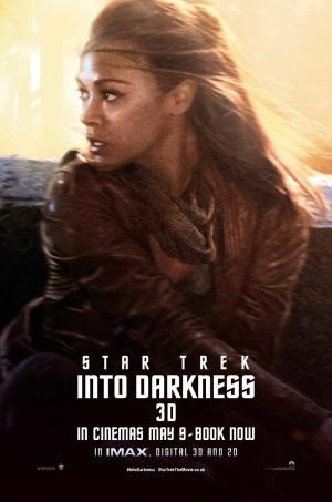 Star Trek Into Darkness Poster 3 Zoe Saldana