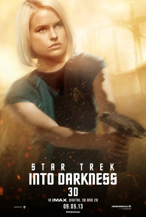 Star Trek Into Darkness Poster 5 Alice Eve