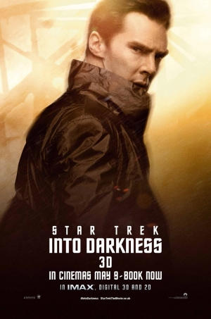 Star-Trek Into Darkness Poster 7 Benedict Cumberbatch