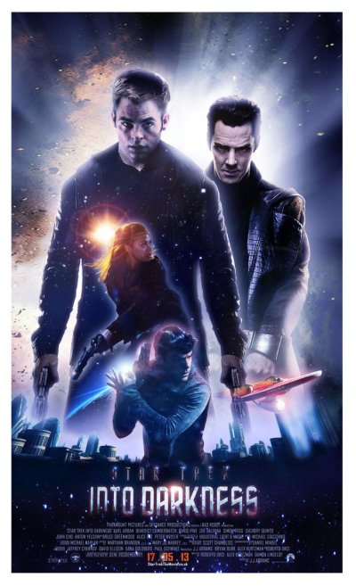 Star Trek Into Darkness Poster FC2