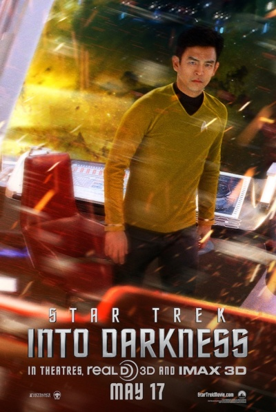 Star Trek Into Darkness Sulu Poster