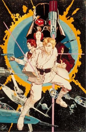 Star Wars Episode IV Poster 2