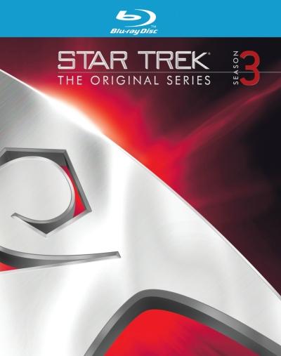 Star Trek TOS Season 3 Blu-Ray Cover