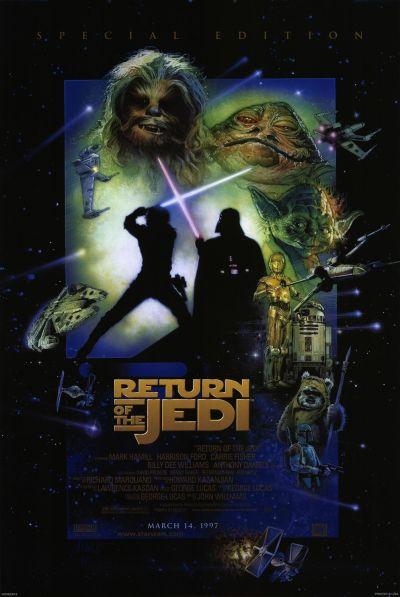 Star Wars Return of the Jedi  poster2