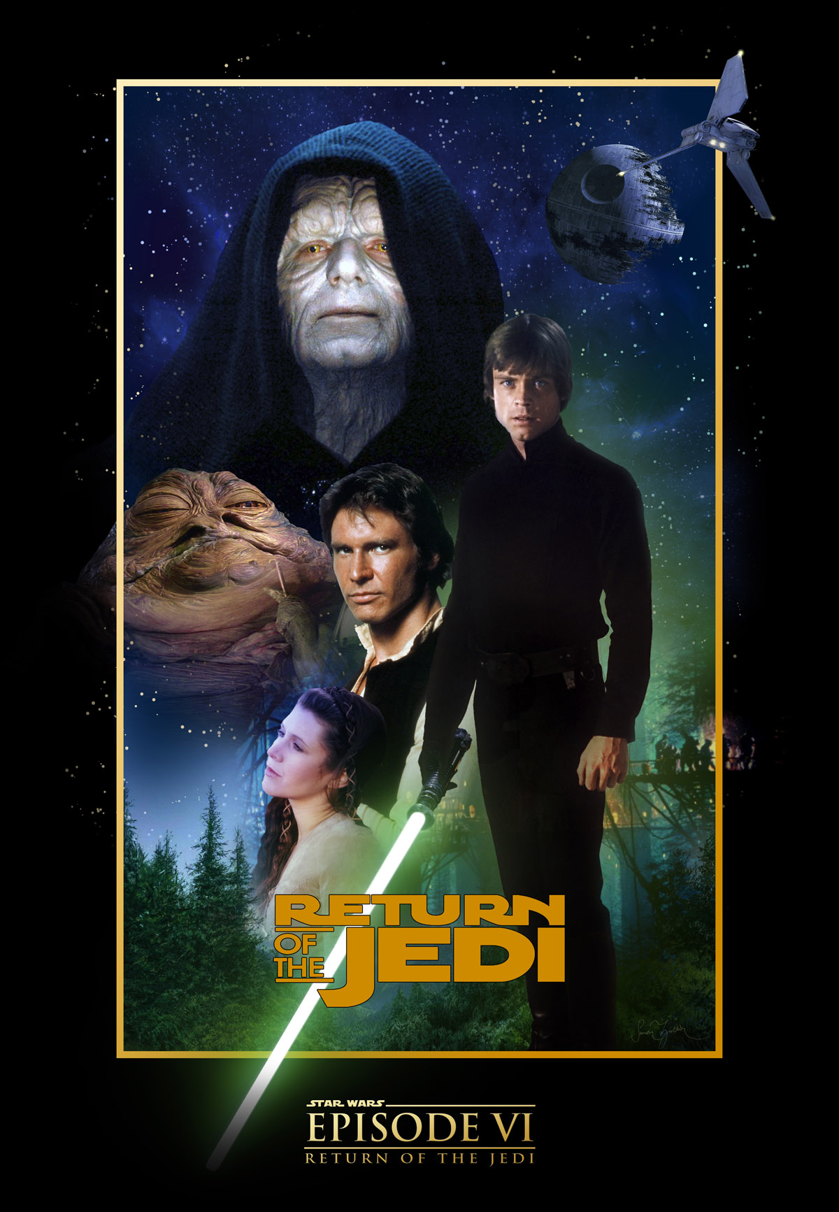 Star Wars Return of the Jedi poster4