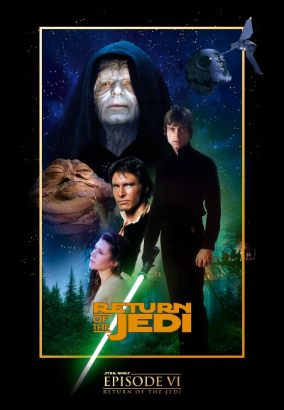 Star Wars Return of the Jedi  poster4