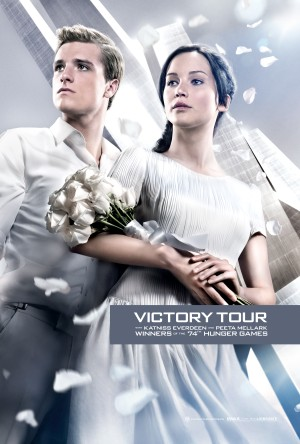 The Hunger Games Catching Fire Victory Tour Poster