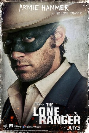 The Lone Ranger Armie Hammer Poster