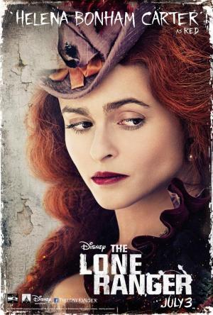 The Lone Ranger Helena Bonhamcarter Poster