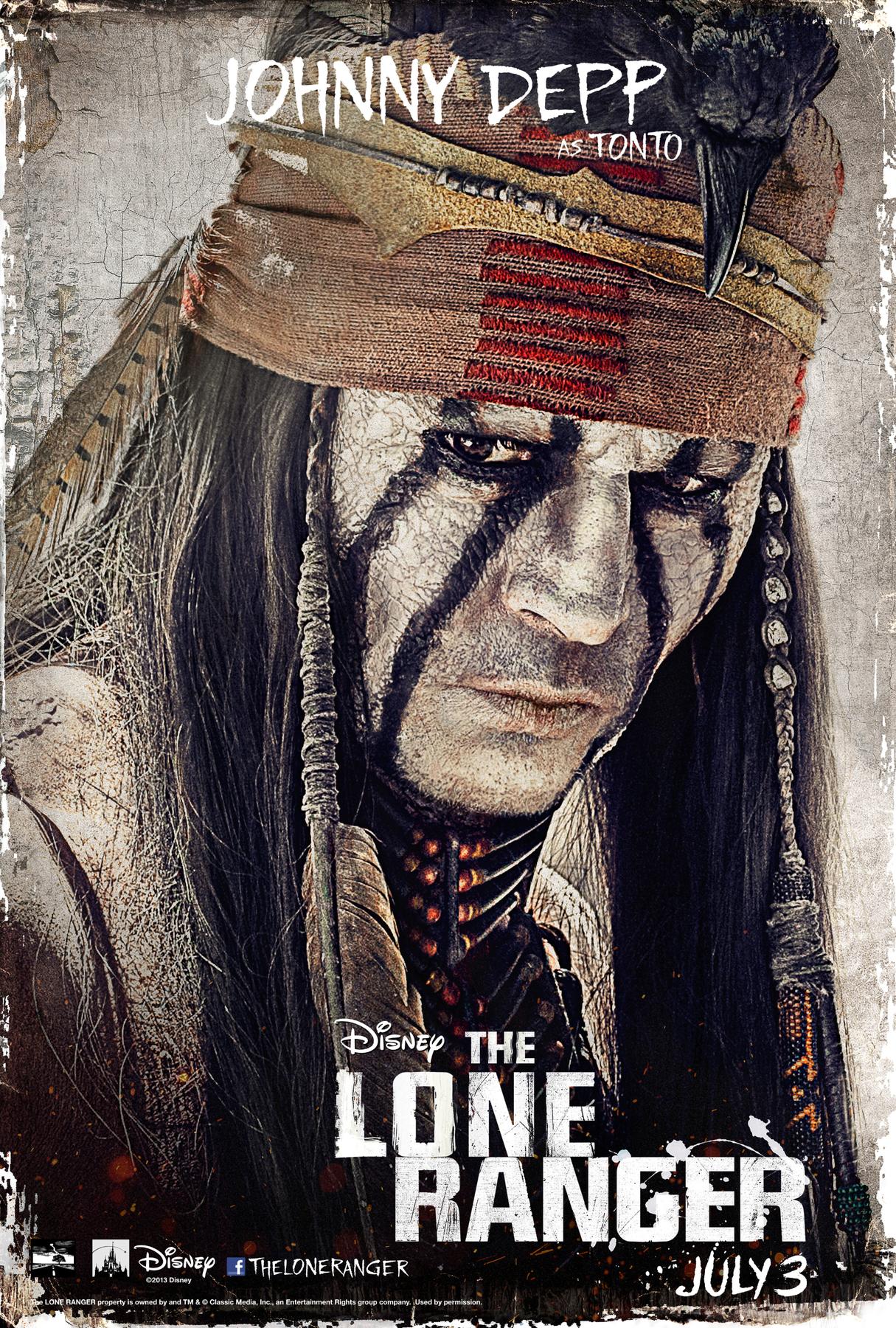 the lone ranger 2013 posters reggie s take