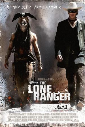 The Lone Ranger Poster 2013