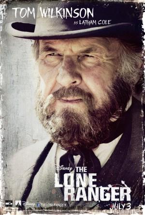 The Lone Ranger Tom Wilkinson Poster