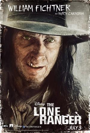 The Lone Ranger  William Fichtner Poster