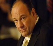 James Gandolfini. photo: Barry Wetcher
