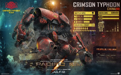 Pacific Rim WP Crimson