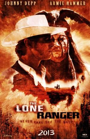 The Lone Ranger Poster z