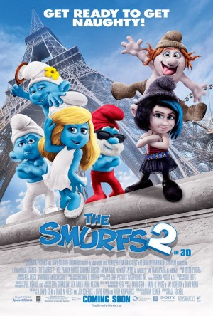 The Smurfs 2 Poster a