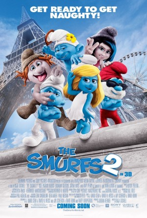 The Smurfs 2 Poster d