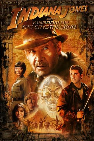 Image result for indiana jones and the kingdom of the crystal skull movie poster