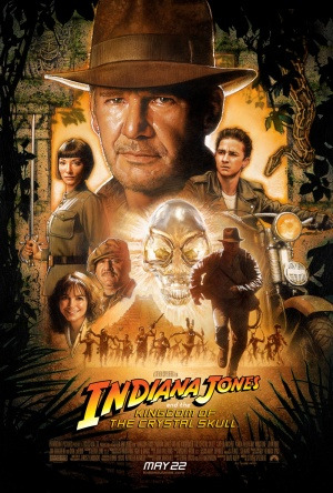Indiana Jones and the Kingdom of the Crystal Skull movie poster final