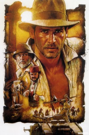 Indiana Jones and the Last Crusade Poster 2