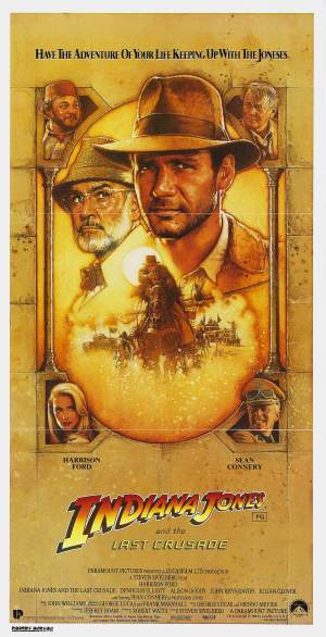 Indiana Jones and the Last Crusade Poster 5