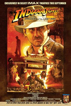 Indiana Jones and The Raiders of the Lost Ark IMax Poster