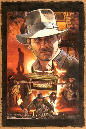 Indiana Jones and The Raiders of the Lost Ark Poster 4