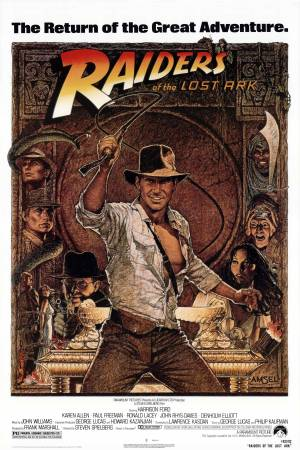 Indiana Jones and The Raiders of the Lost Ark Poster 5