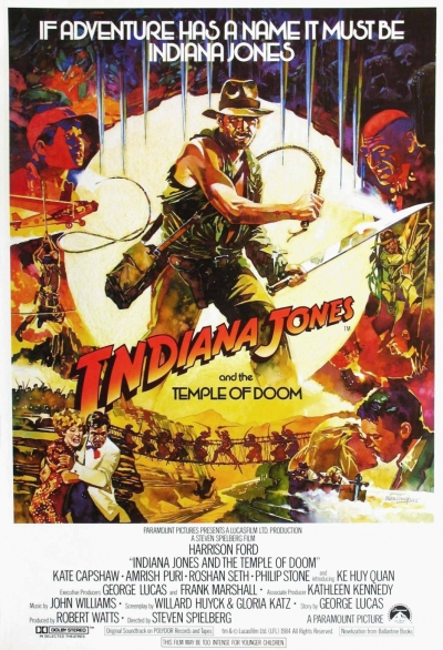 Indiana Jones and the Temple of Doom Poster 2