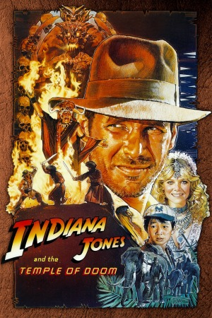 Indiana Jones and the Temple of Doom Poster 5