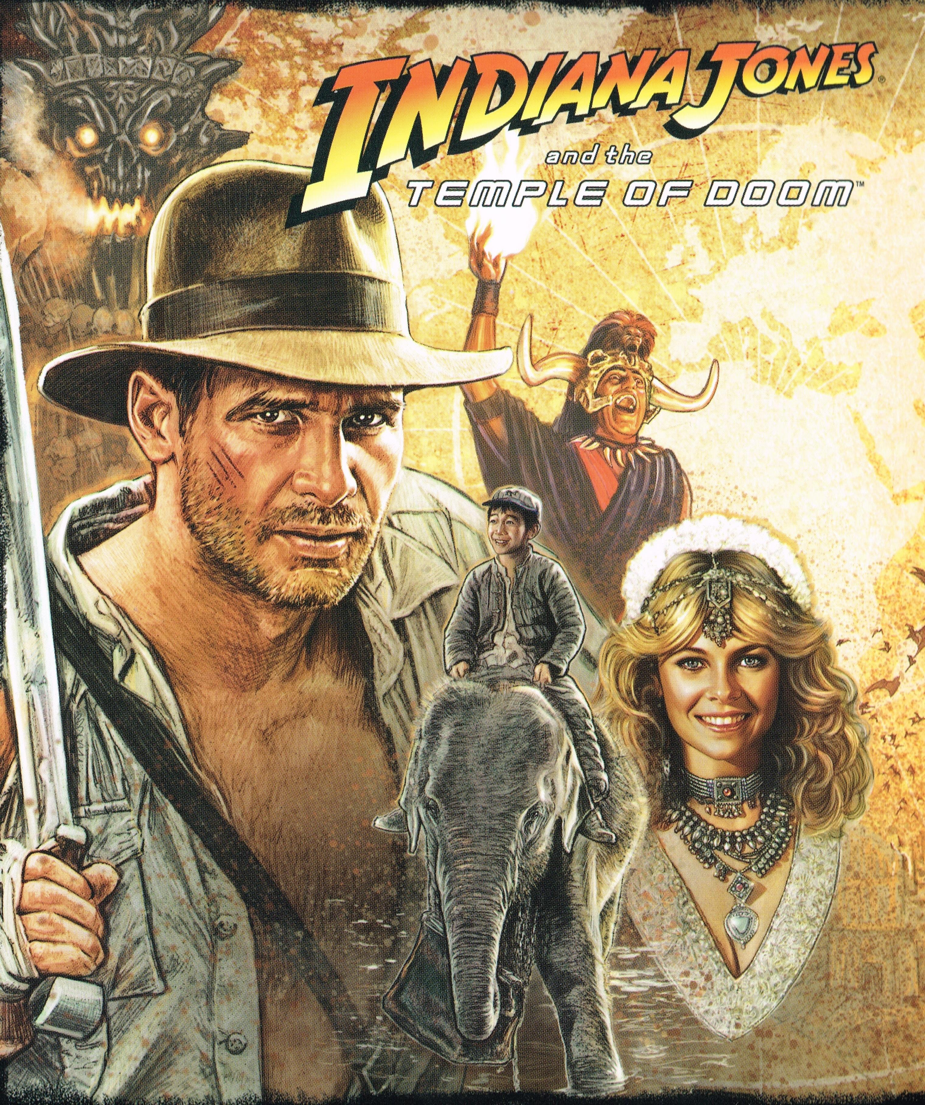 Постер индиана джонс